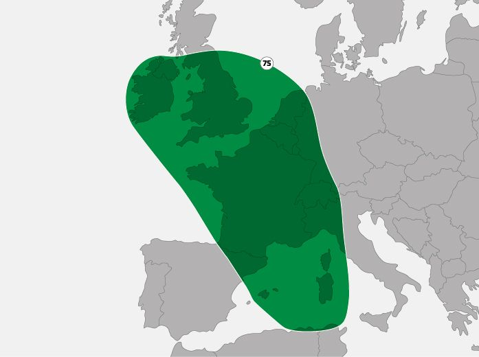 SES Coverage Europe